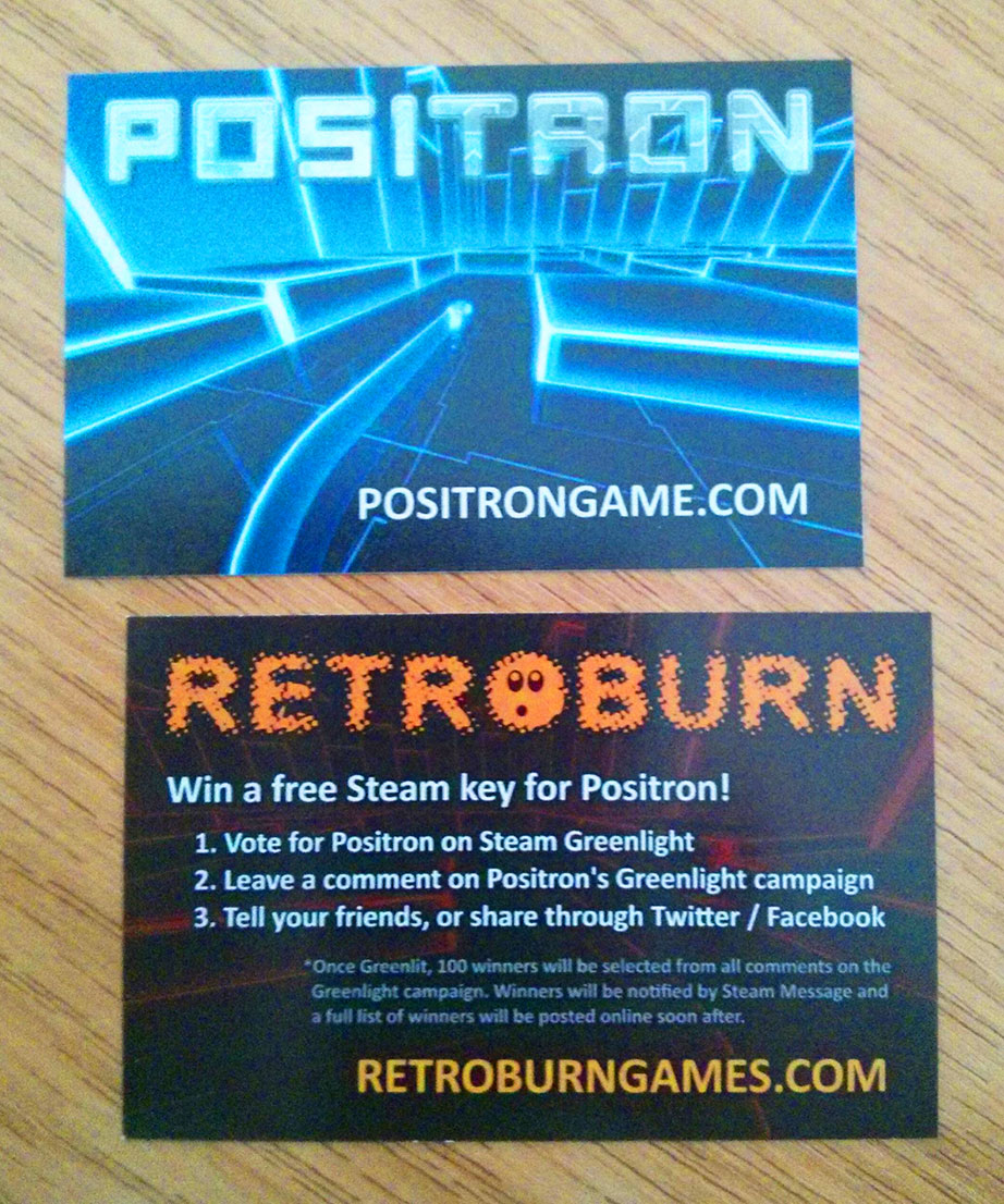 Positron Greenlight cards